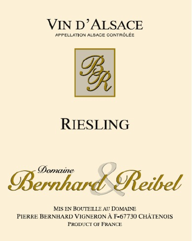 2013 – Riesling AOC Alsace Bottle Image