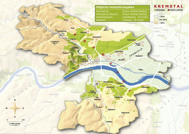 Map courtesy of the Austrian Wine Marketing Board