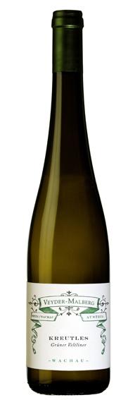 """2009 – Grüner Veltliner """"Kreutles"""" Bottle Image"""