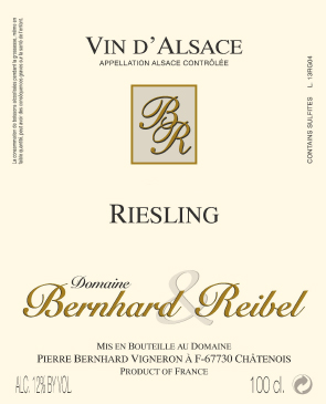 Riesling AOC Alsace Bottle Image
