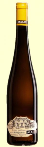 """2010 – Grüner Veltliner """"Höhlgraben"""" Alte Reben Kremstal Reserve Bottle Image"""