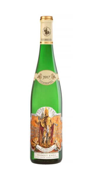 """2017 – Grüner Veltliner """"Kreutles"""" Federspiel Bottle Image"""
