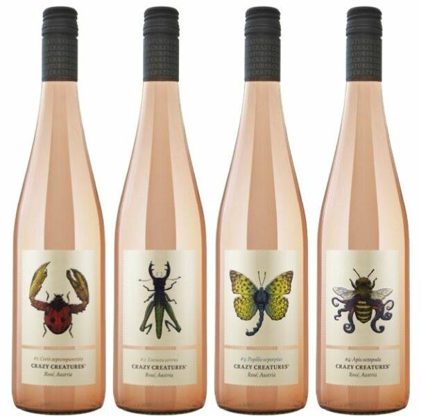 2020 – Crazy Creatures Rosé Bottle Image